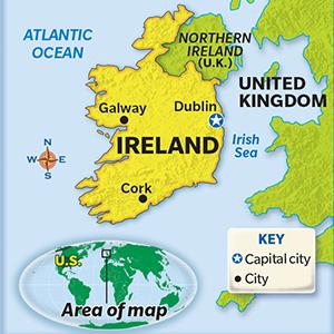 Place in the News: Ireland on minnesota map key, switzerland map key, guatemala map key, bermuda map key, vietnam map key, australian outback map key, south dakota map key, romania map key, el salvador map key, east asia map key, connecticut map key, argentina map key, ancient egypt map key, austria map key, colombia map key, belgium map key, southwest region map key, honduras map key, madagascar map key, middle east map key,