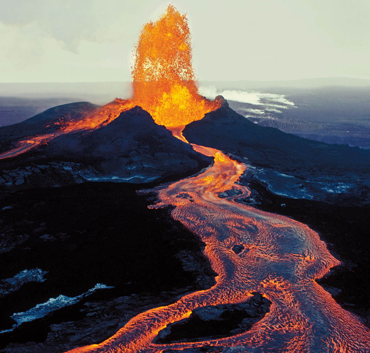 Lava Land Shield Volcano Diagram With Labels Quotes Image Component Popup